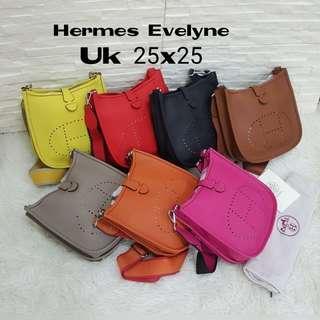 PALING MURAH!!!! WAJIB PUNYA!!!!! Hermes sling bag tas hermes murah tas import wanita . Hermes Lindy
