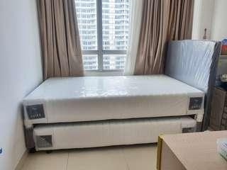 Spring Bed Set 120 cm