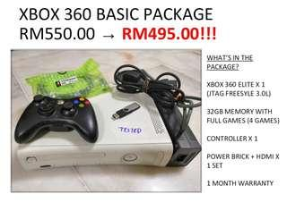 Xbox set package