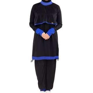 Bella Ammara Swimsuit Black Blue (Bakini 1.0) Size: XS