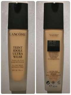 (PO-02)  lancôme Teint Idole Ultra Wear Lancôme Teint Idole Ultra Wear foundation SPF 38 / PA+++ 極致持妝輕透粉底液 30ml