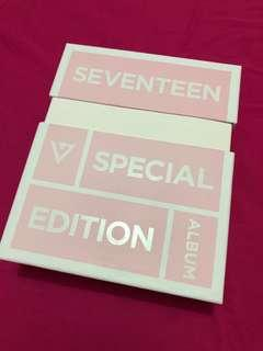 SEVENTEEN Official LOVE & LETTER 1st Repackage Special Edition Album CD + 2DVD + Photobook