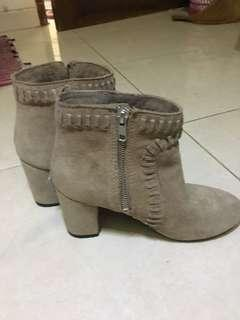 H&M Boots Suede