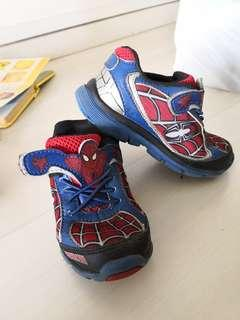 🚚 Mint Condition light up spiderman stride rite