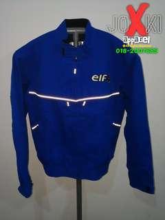 Riding Jacket ELF Biru saiz L RM200 sahaja