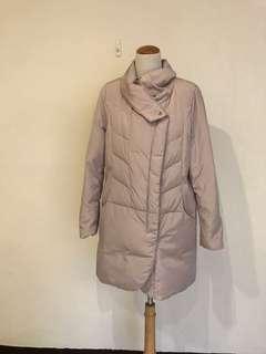 🚚 韓國製粉色輕羽絨外套
