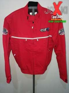 Riding Jacket ELF saiz L Red Merah RM450