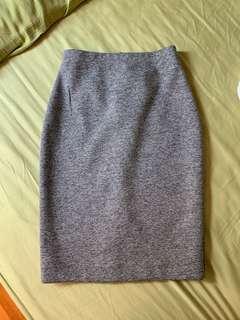 🚚 Seed Heritage Grey Speckled Skirt