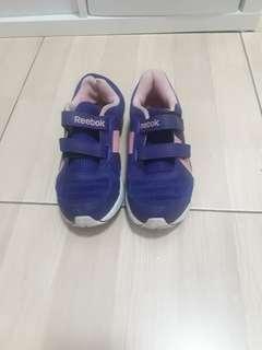 Purple Reebok Running Shoes
