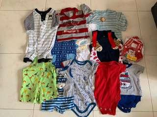 🚚 Baby Boy Bundle Sales (16pieces)