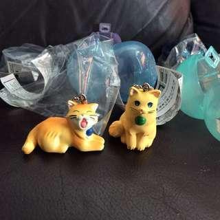 Tomy 貓達 啡貓 匙扣
