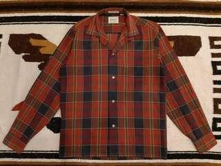 1950s Towncraft Penny's Check Sport Shirt