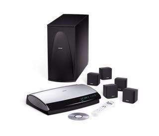 Bose Lifestyle 28 multi media entertainment systems with single cube speakers