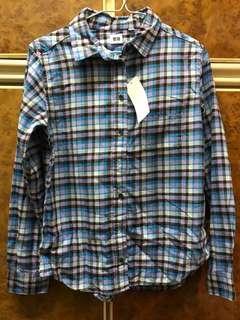 Uniqlo 格仔恤衫 check plaid shirt