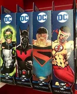 DC Comics Multiverse Wave 10 Batman Green Lantern Superman Flash LOBO CnC Series