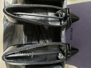 Black Prada women's shoes (used)