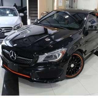 ★全球限量750台 16年 BENZ CLA250 AMG Orange Edition