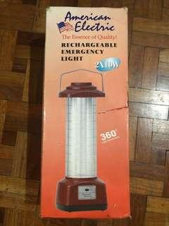 American Electric Rechargeable Emergency Light