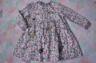 NEXT Cartoon Embroidered Dress
