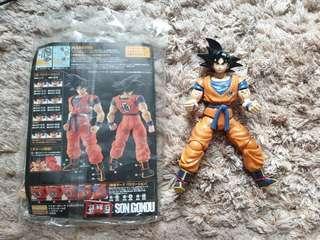 Bandai son goku dragon ball MG #50TXT