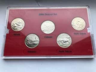 全新美國收藏幣