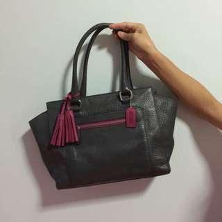 🚚 Coach Grey Bag