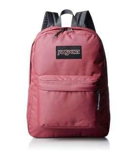 🚚 Jansport Backpack Sangria Pink