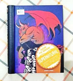 Buku BBW How to Draw Supernatural Beings by Andy Fish