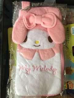 [包郵]Sanrio My Melody 毛巾 保溫套 水樽套