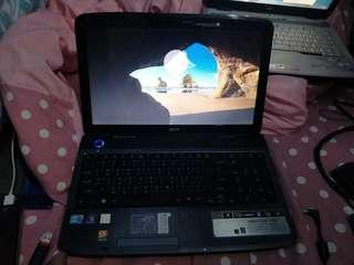 Acer aspire 5740G,intel core i5 520M,4 g ram 500 g hdd 15.6""