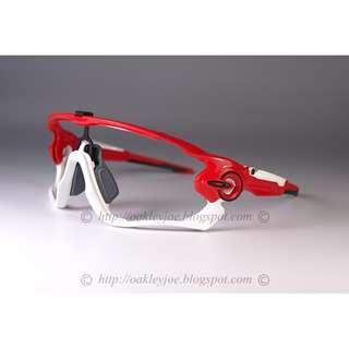 🚚 Oakley Custom Jawbreaker Frame Only redline + black icon sunglass shades