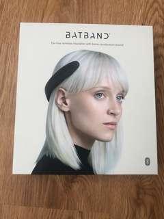 Batband wearable headphone