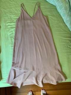 🚚 Cap A Pie Dusty Pink Dress