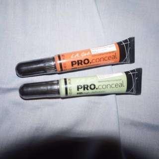 2 pcs Pro concealer LA girl murah meriah
