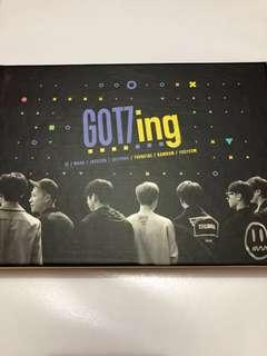 GOT7 Official GOT7ing [3 DVD + Photobook + Postcards]