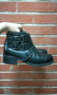 🚚 牛皮 工程靴 pazzo 40號