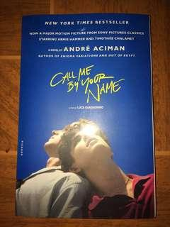 Call Me By Your Name (Movie Tie In Edition)