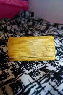 Louis Vuitton Epi Yellow Key Holder