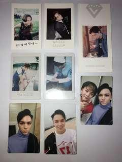 SEVENTEEN Official Vernon Photocards