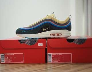 7US, 9.5US Air Max 1/97 VF SW Sean Wotherspoon