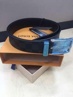 bef17c5b96f55 Louis Vuitton LV belt men Pont Neuf