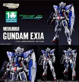 Metal build Gundam exia 10周年版(日版)