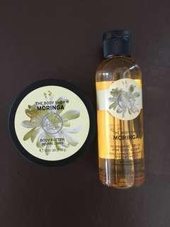 Moringa Body Butter + Nourishing Dry Oil