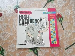 🚚 Pre-loved Toddler's High Frequency Words