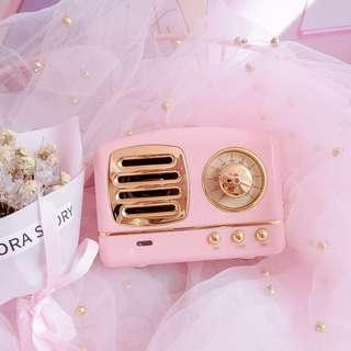 Kawaii Cute Mini Retro Speaker Comel