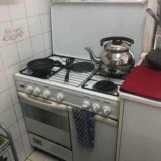 Four Stove Kitchen