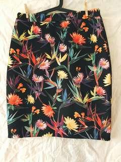 Brand New Digital print pencil skirt