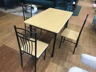 Affordable Dining Table and four chairs