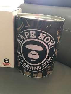 💯 authentic aape tin box