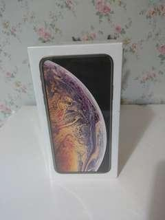 NEW IPHONE XS MAX 256GB GOLD DUALSIM SEALBOX